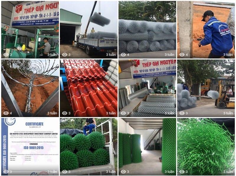 lưới b40 bọc nhựa giá rẻ tại gia nguyễn