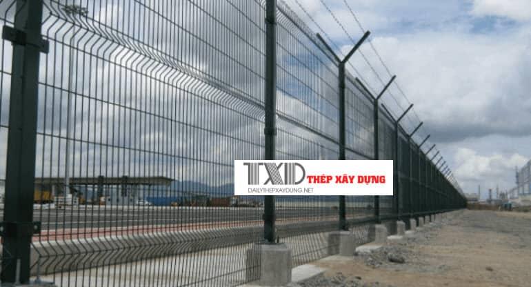 cách làm hàng rào lưới b40