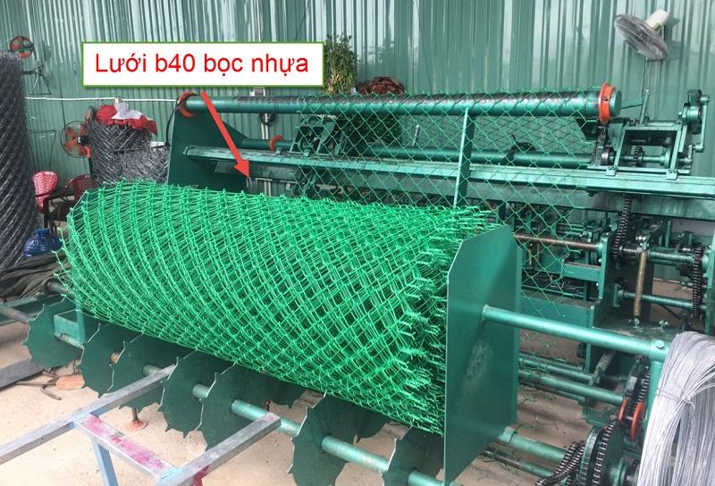Lưới b40 bọc nhựa là gì
