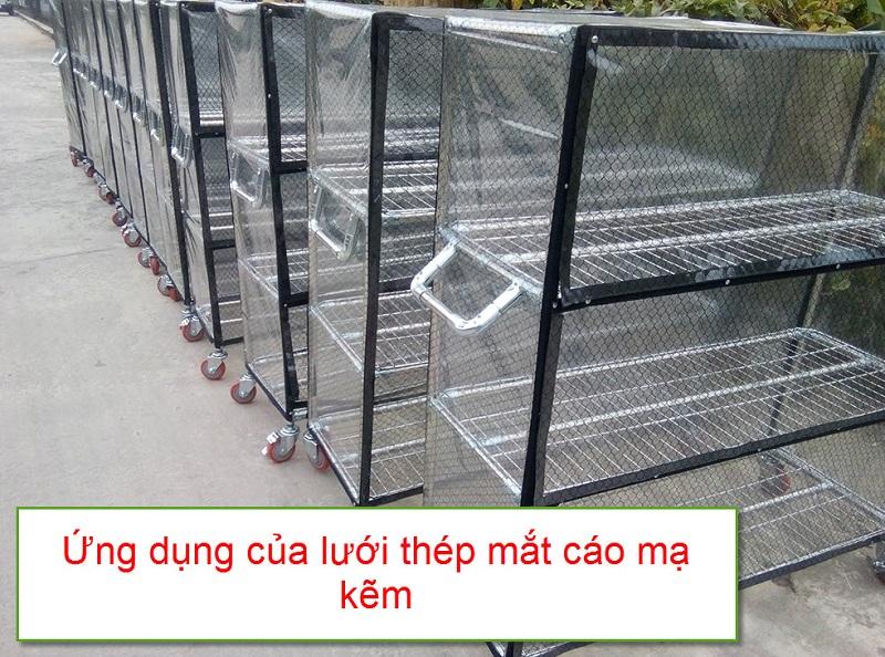 Lưới mắt cáo mạ kẽm ứng dụng trong chăn nuôi