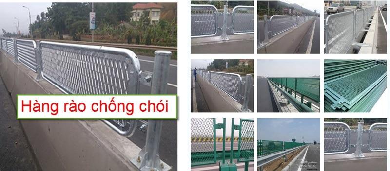 Hàng rào lưới thép chống chói