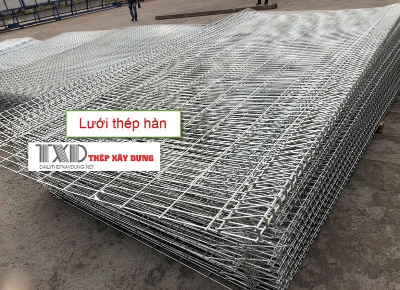 Lưới thép hàn là gì