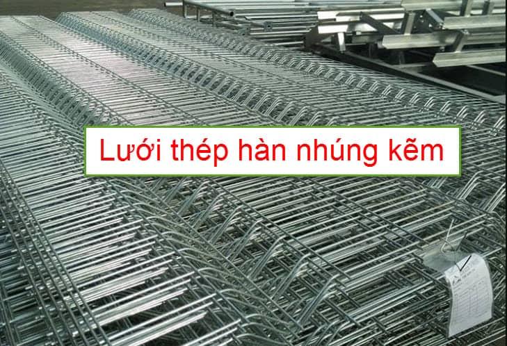 Lưới thép hàn nhúng kẽm