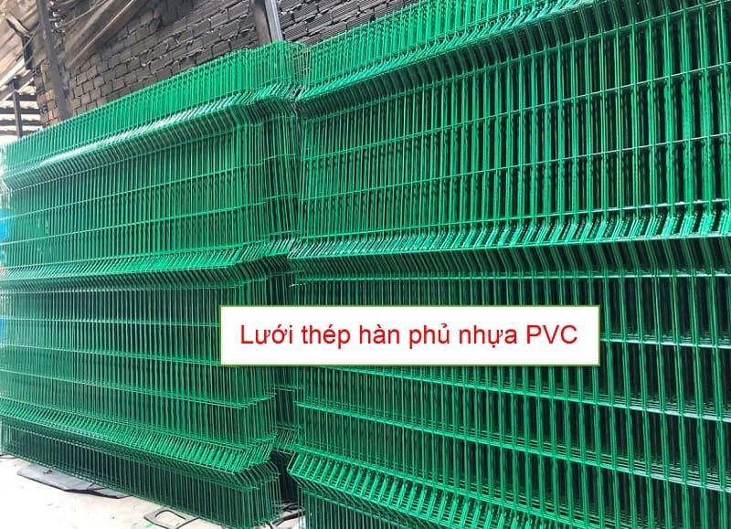 Lưới hàn phủ nhựa pvc